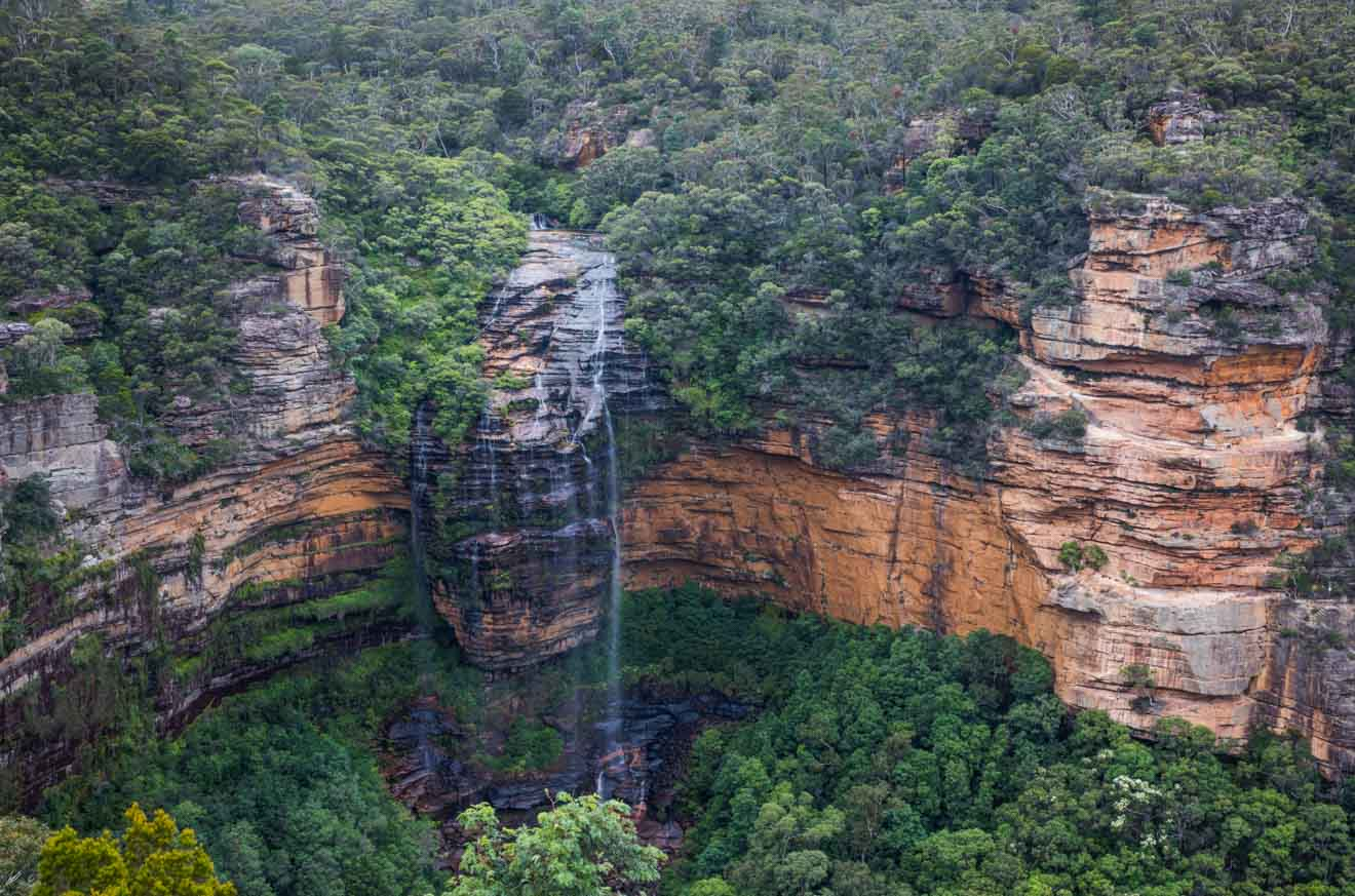Wentworth Falls, Leura in the Blue Mountains from sydney