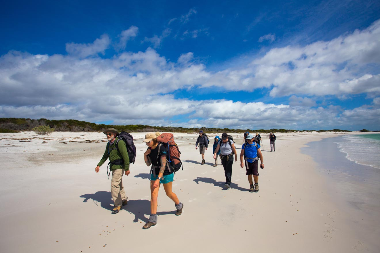a group of people Bay of Fires self guided walks
