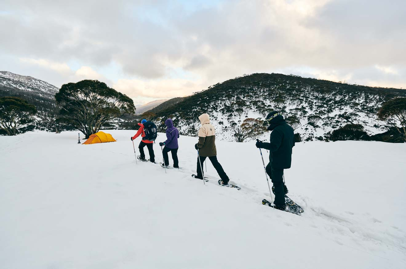 adventure through Dead Horse Gap, Thredbo in the Snowy Mountains nsw