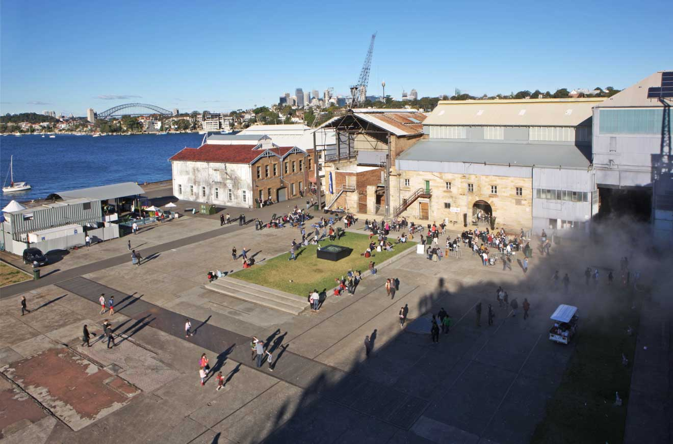 art event at Cockatoo Island experience