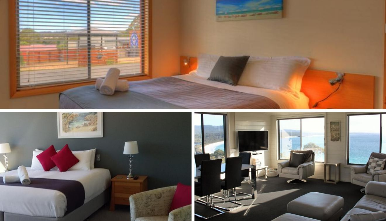 hotels Bay of Fires walks accommodation