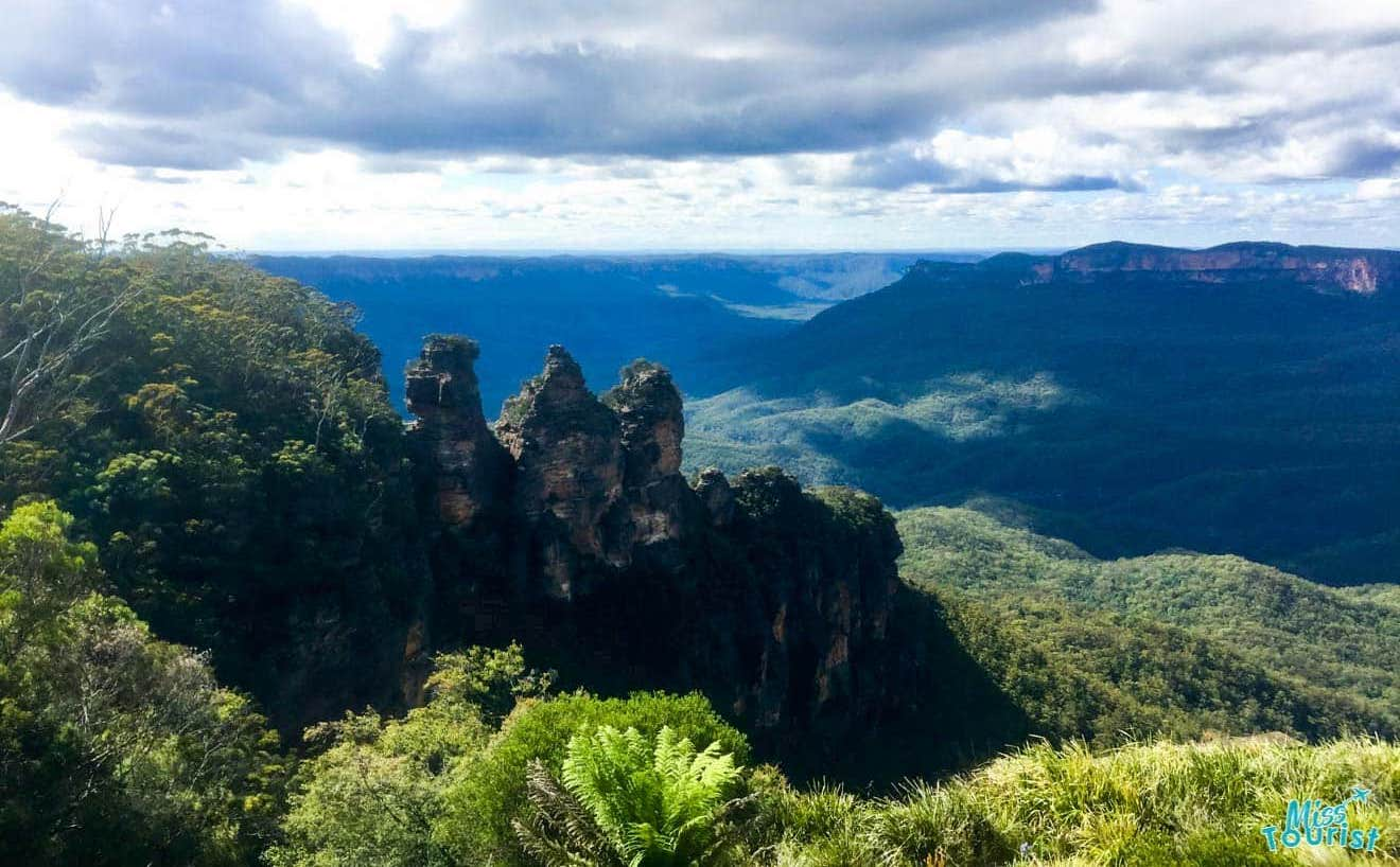mountain view Blue Mountains itinerary