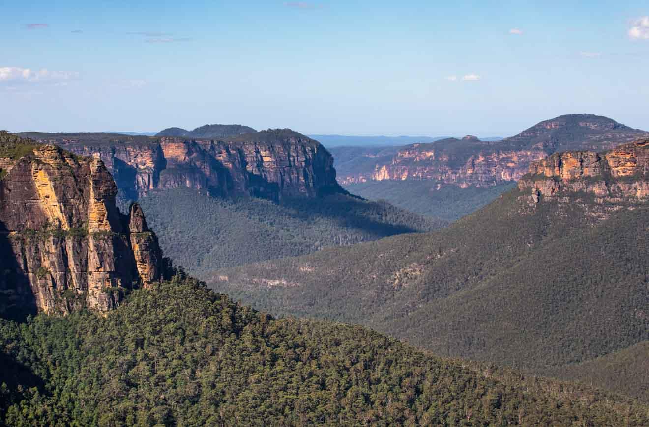 the Grose Valley Blue Mountains NSW Australia