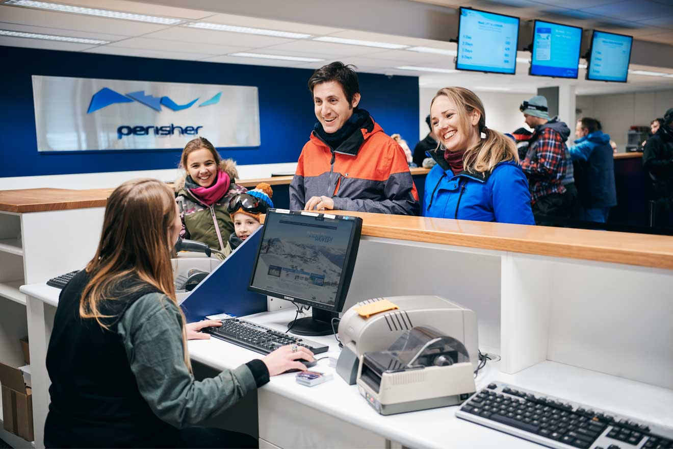 the Perisher ticket office price