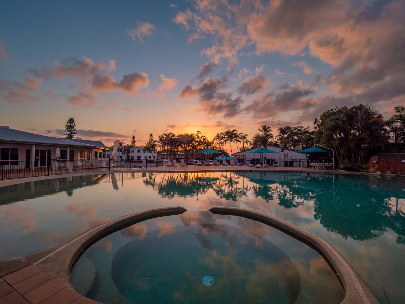 hotel in fraser island