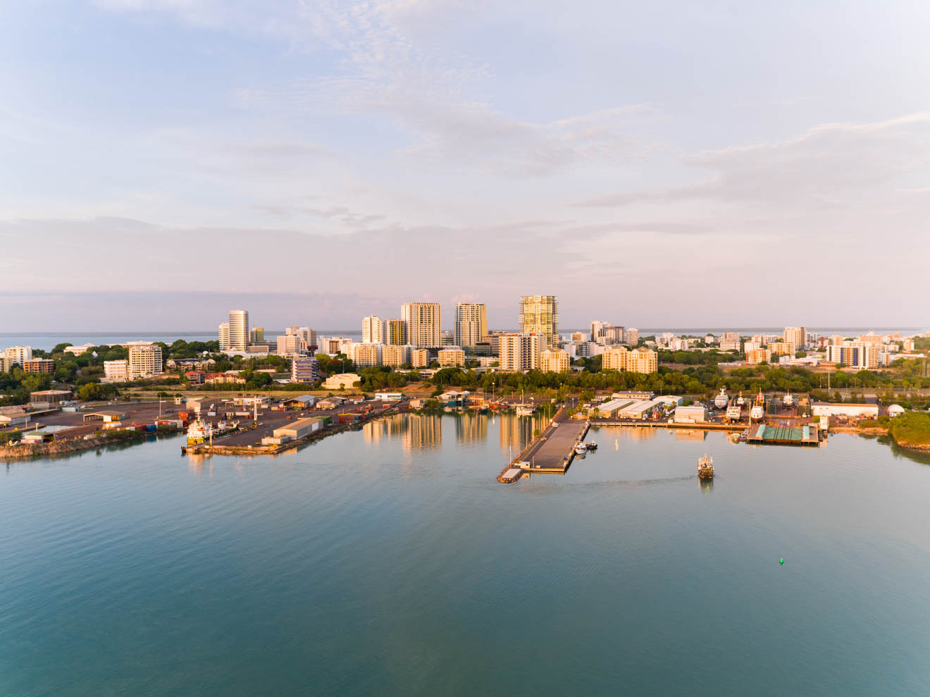 Shopping activities and Aerial view of Darwin City Things to do in Darwin