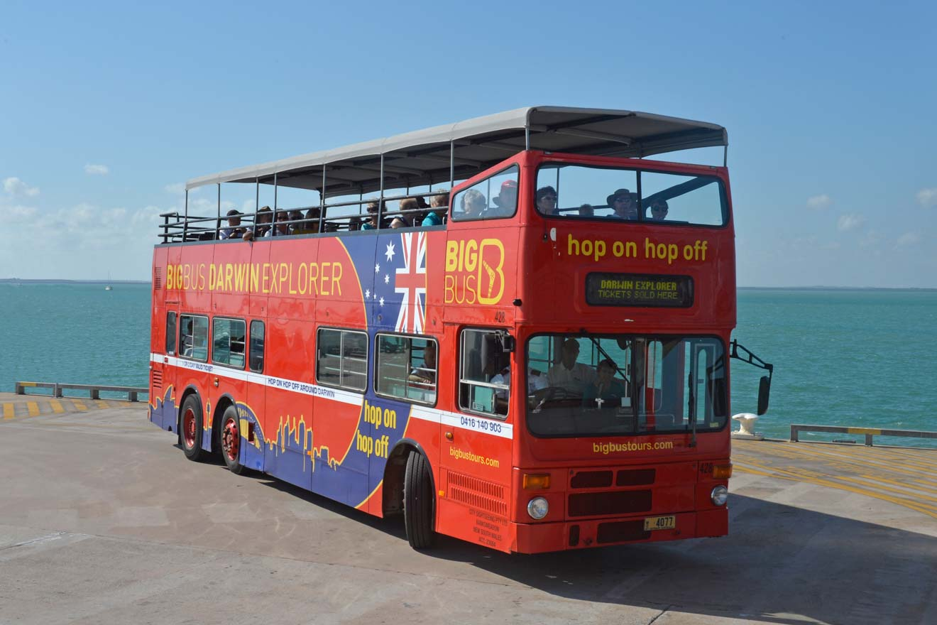 Big Bus Things to do in Darwin tourist information