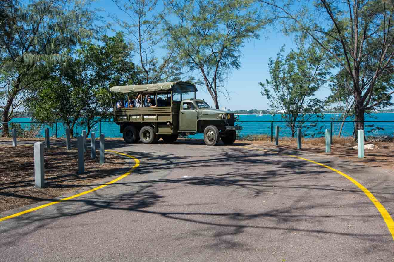 Historical group tour in Darwin Wartime Experience Things to do in Darwin