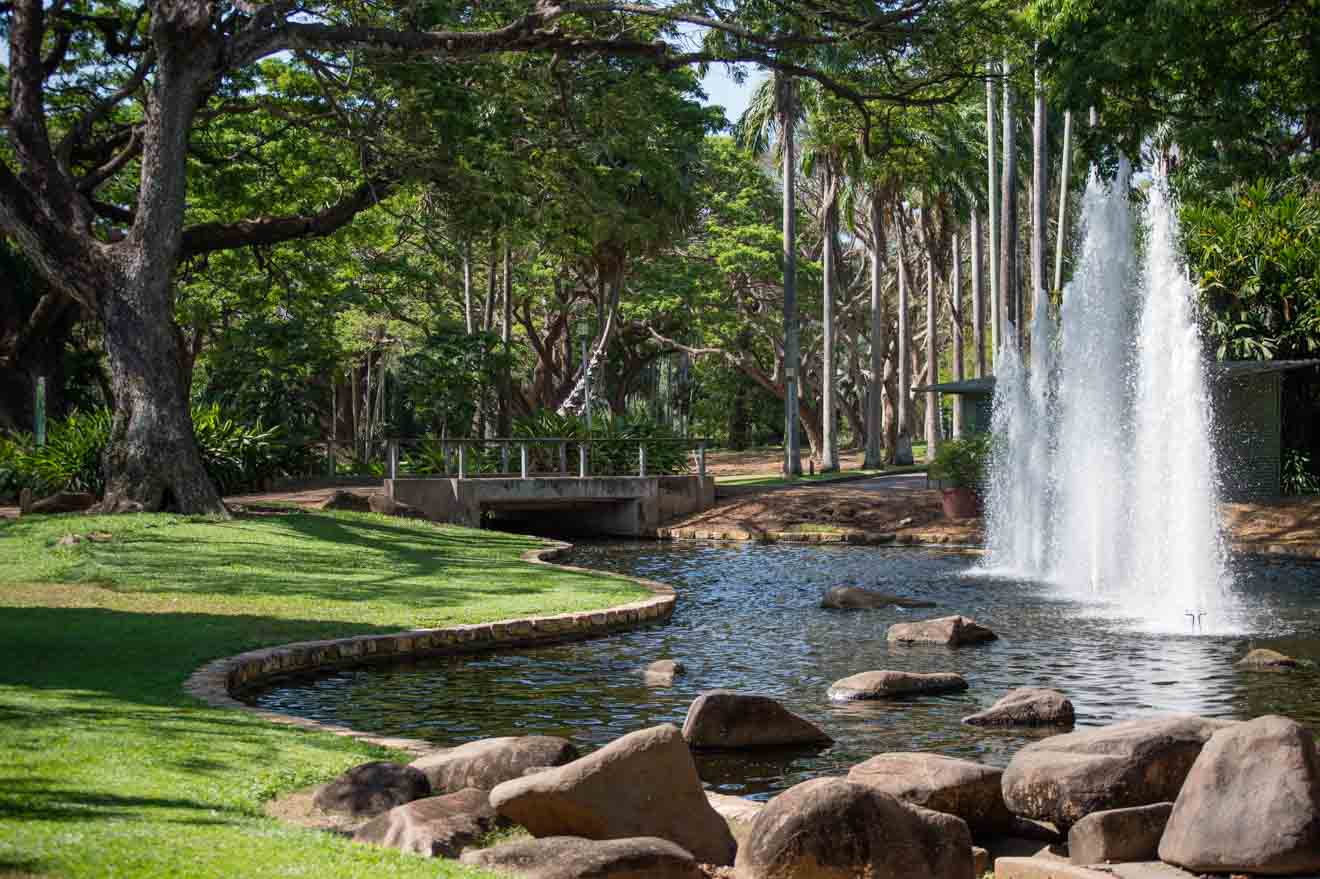 Australia worth visiting - Darwin's tropical gardens Things to do in Darwin