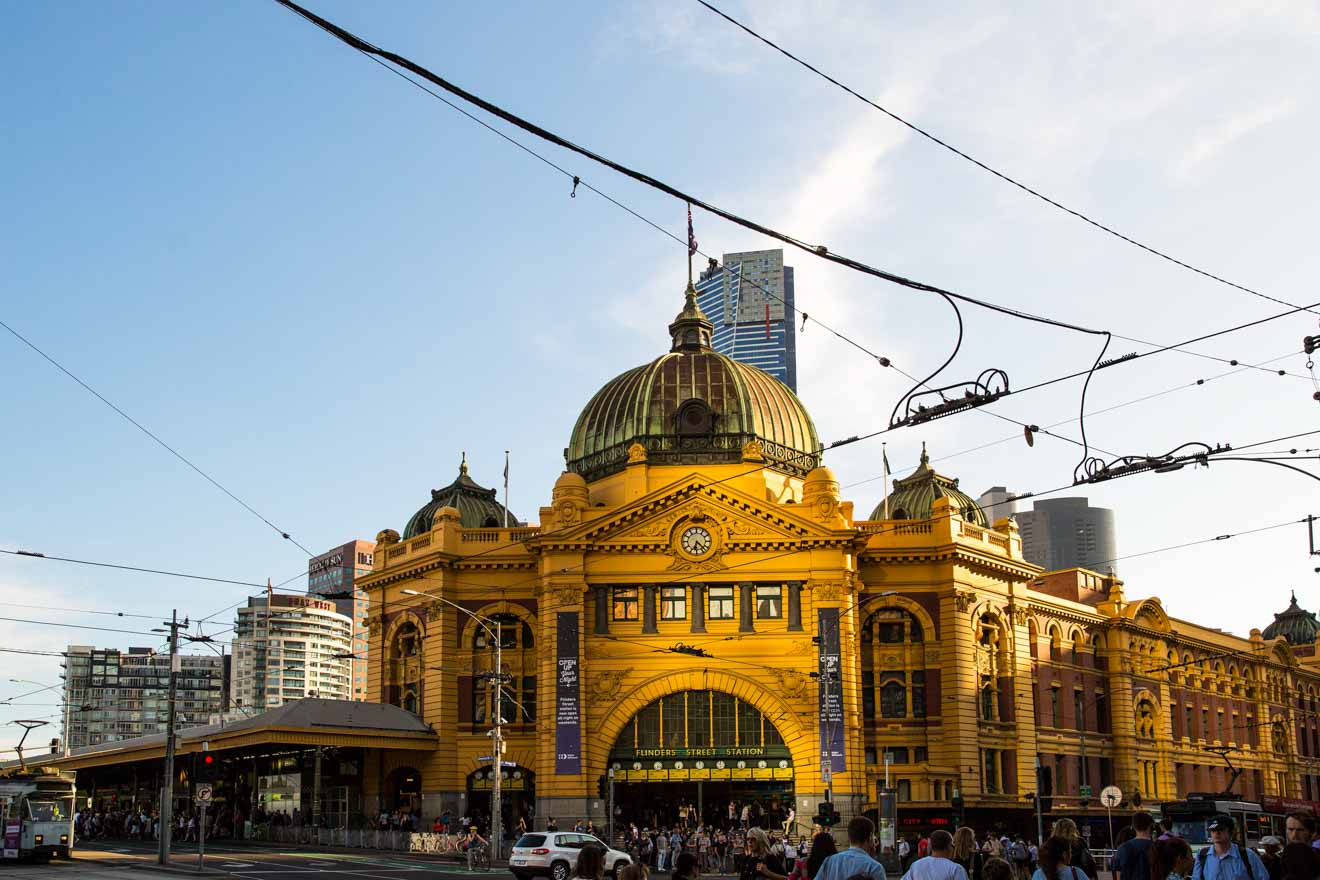Where to go in Geelong, Australia - Flinders Street Station Things to do in Geelong