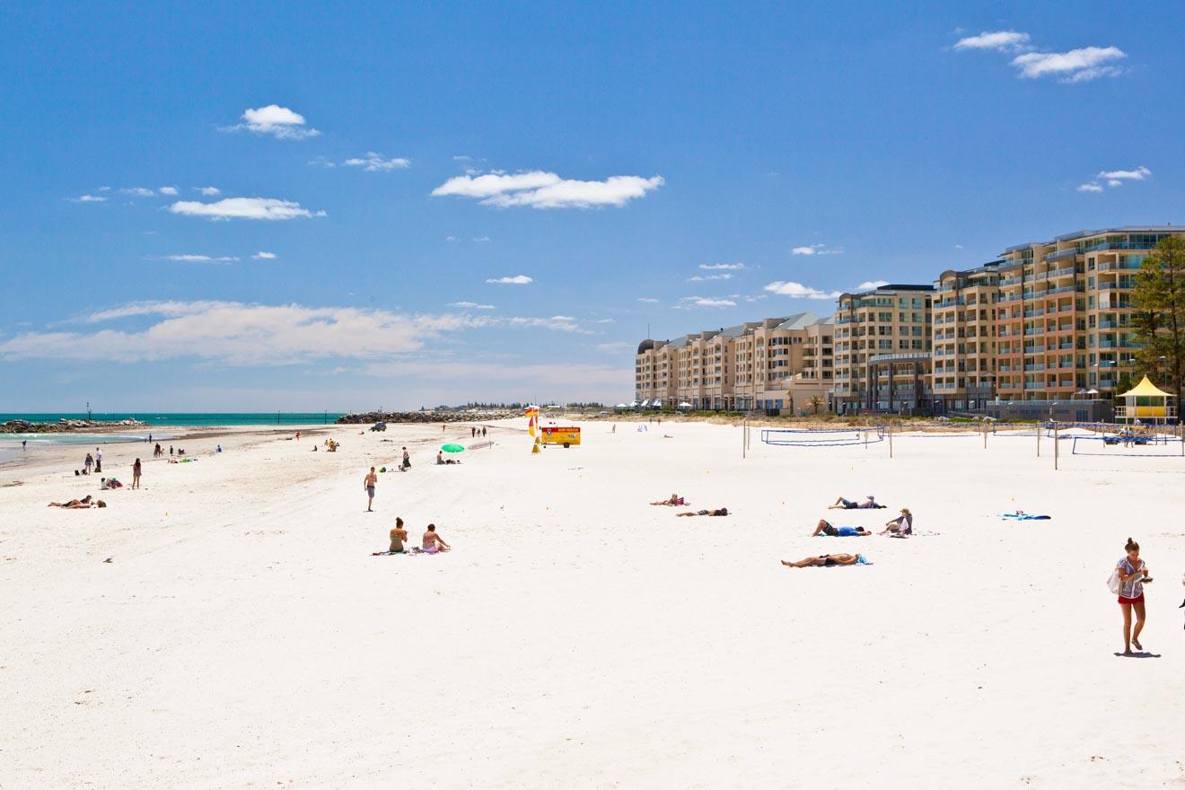 best weekend breaks from Adelaide - Glenelg Beach, Adelaide Day trips from Adelaide