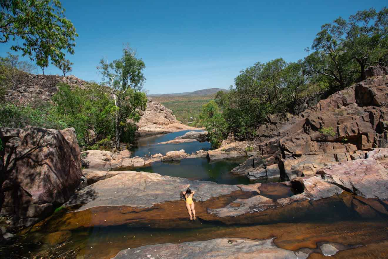 Gunlom Falls Things to do in Kakadu, Australia's Northern Territory