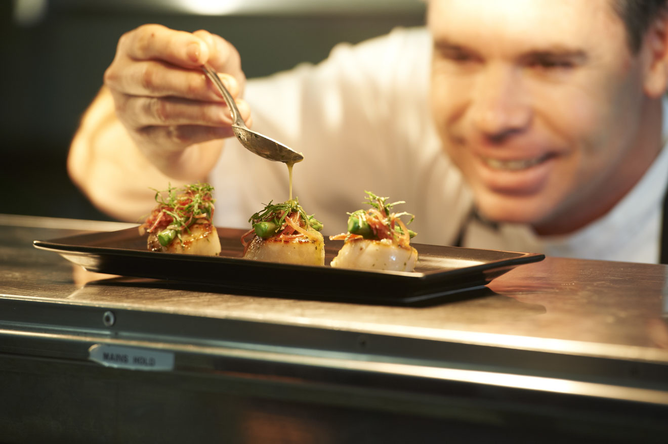 Head Chef Dany Angove Margaret River Wineries and restaurants