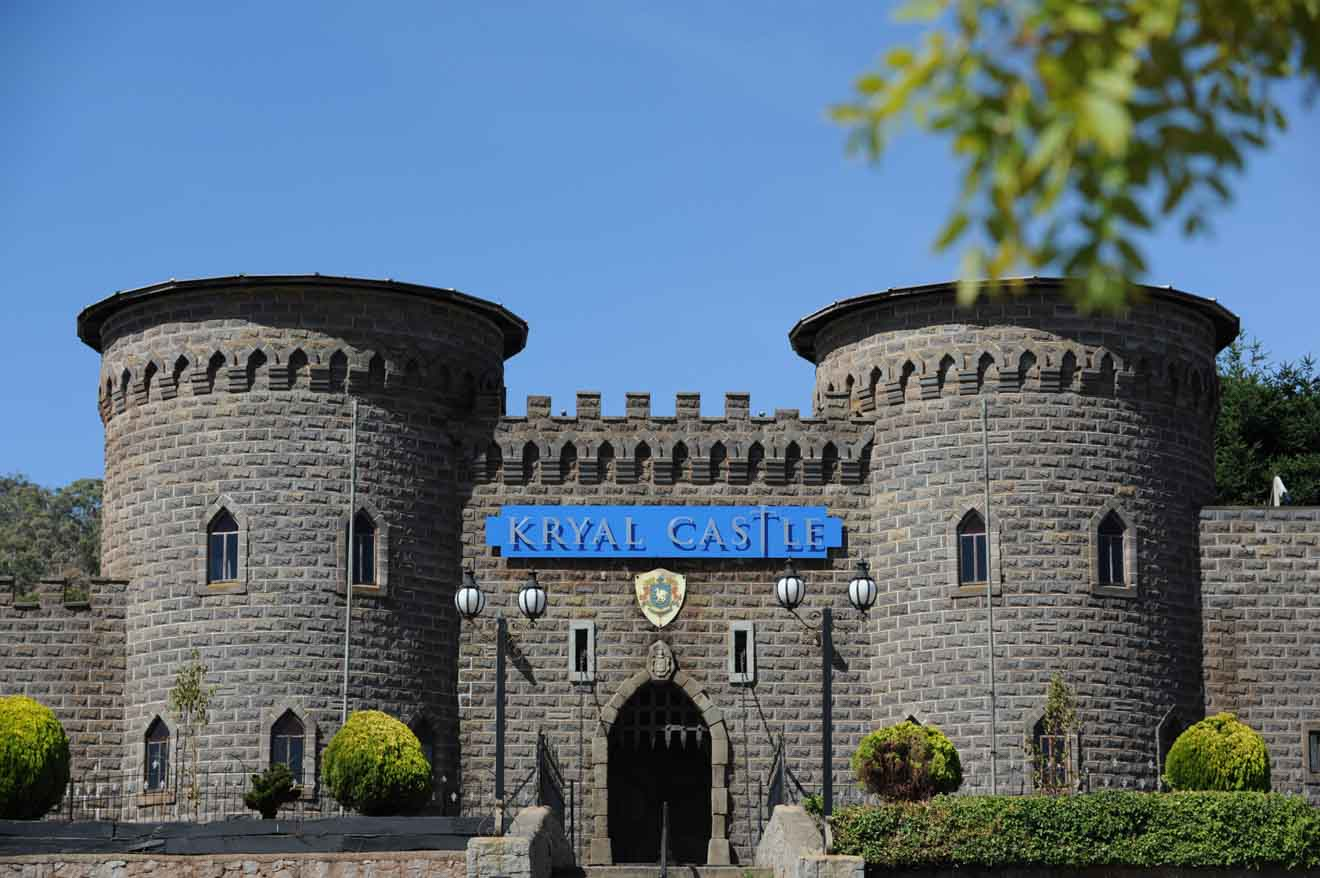 Kryal Castle things to do in ballarat accommodation