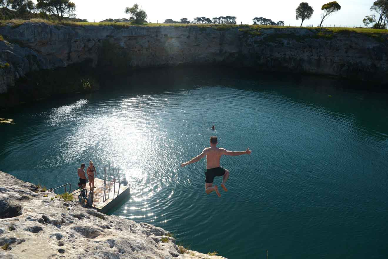 hot springs mount gambier - Little Blue Lake Things to do in Mount Gambier
