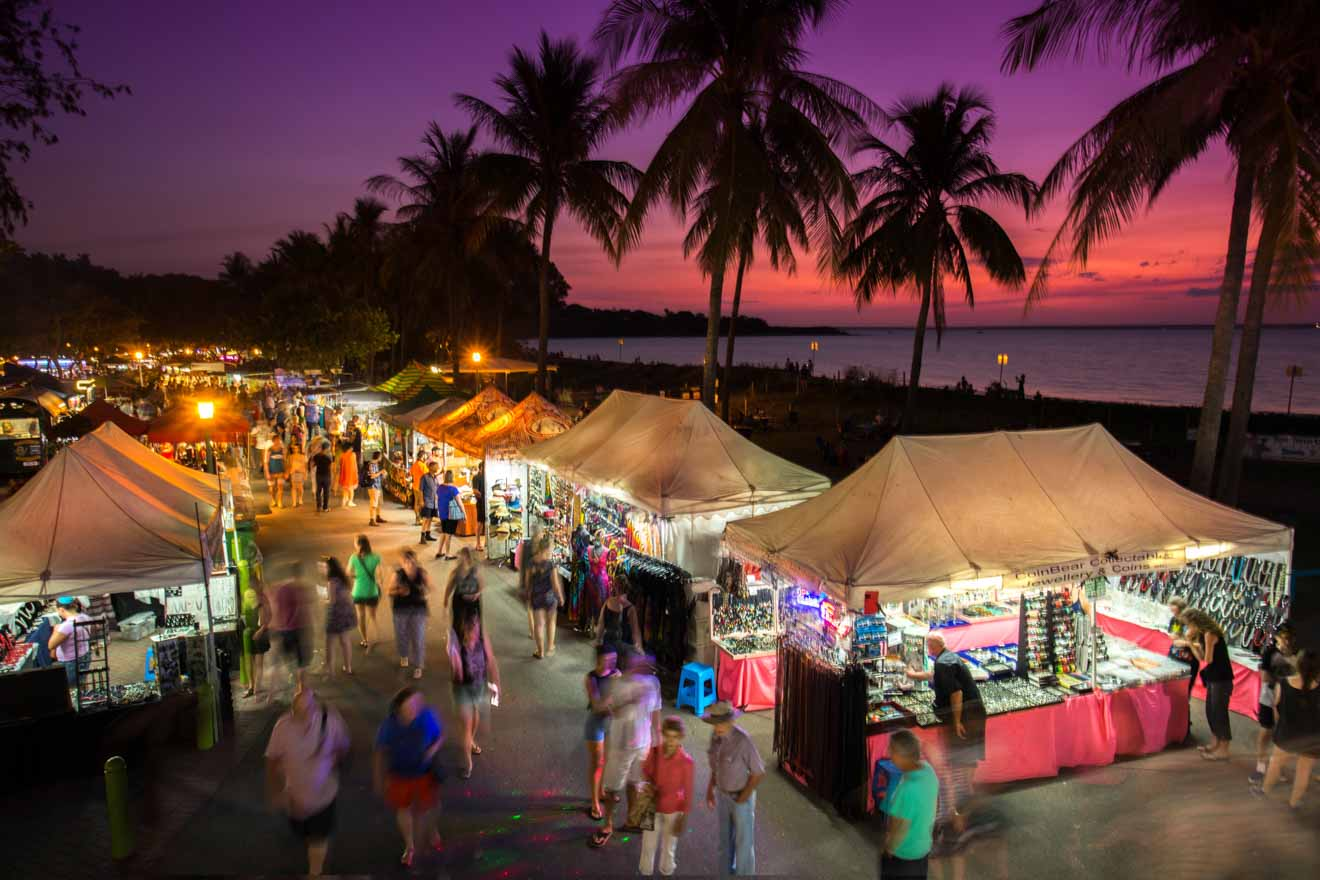 Mindil Beach Sunset Markets Things to do and shopping in Darwin