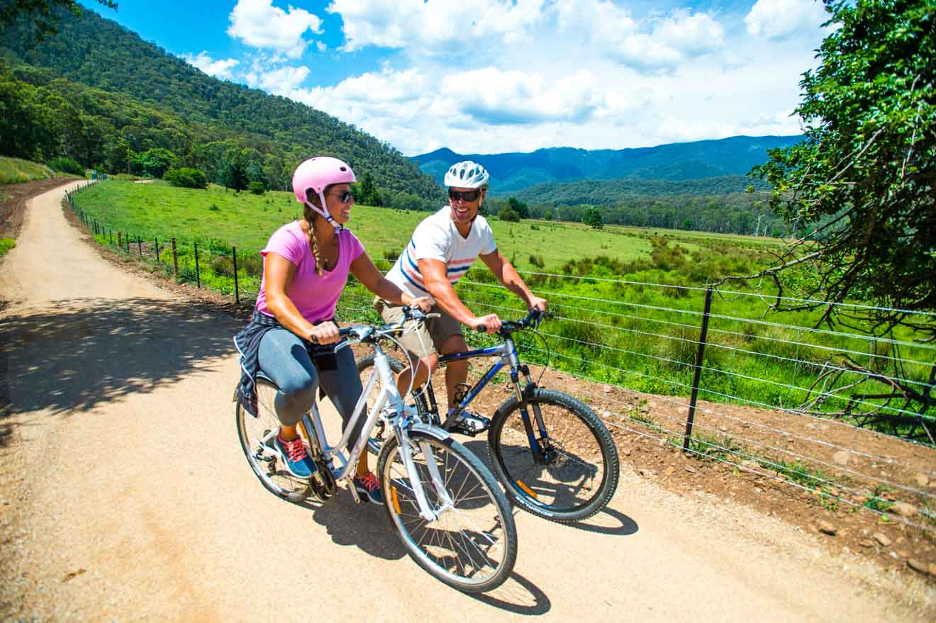 top tourist spot Murray to Mountains Rail Trail things to do in ballarat