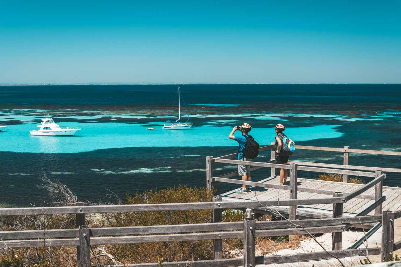 perth day tours at Parker Point, Rottnest Island