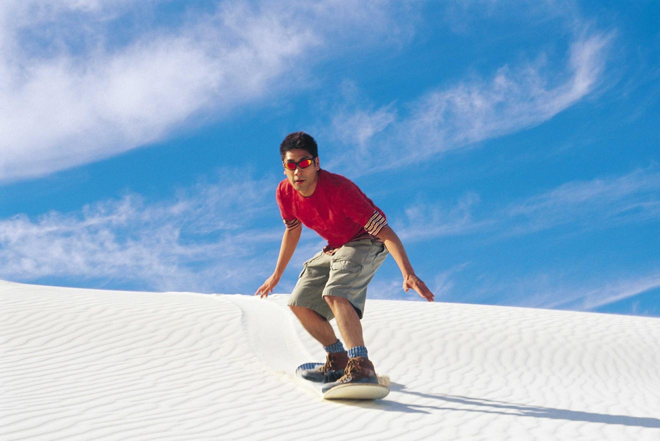 2 day trips from perth - Sandboarding near Lancelin