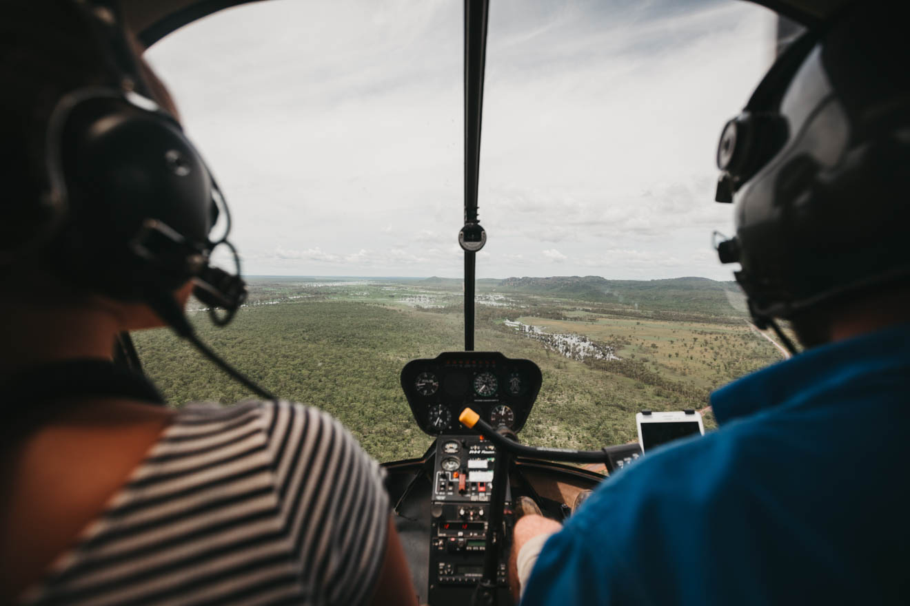 Scenic helicopter flight Things to do in Kakadu national park tourism