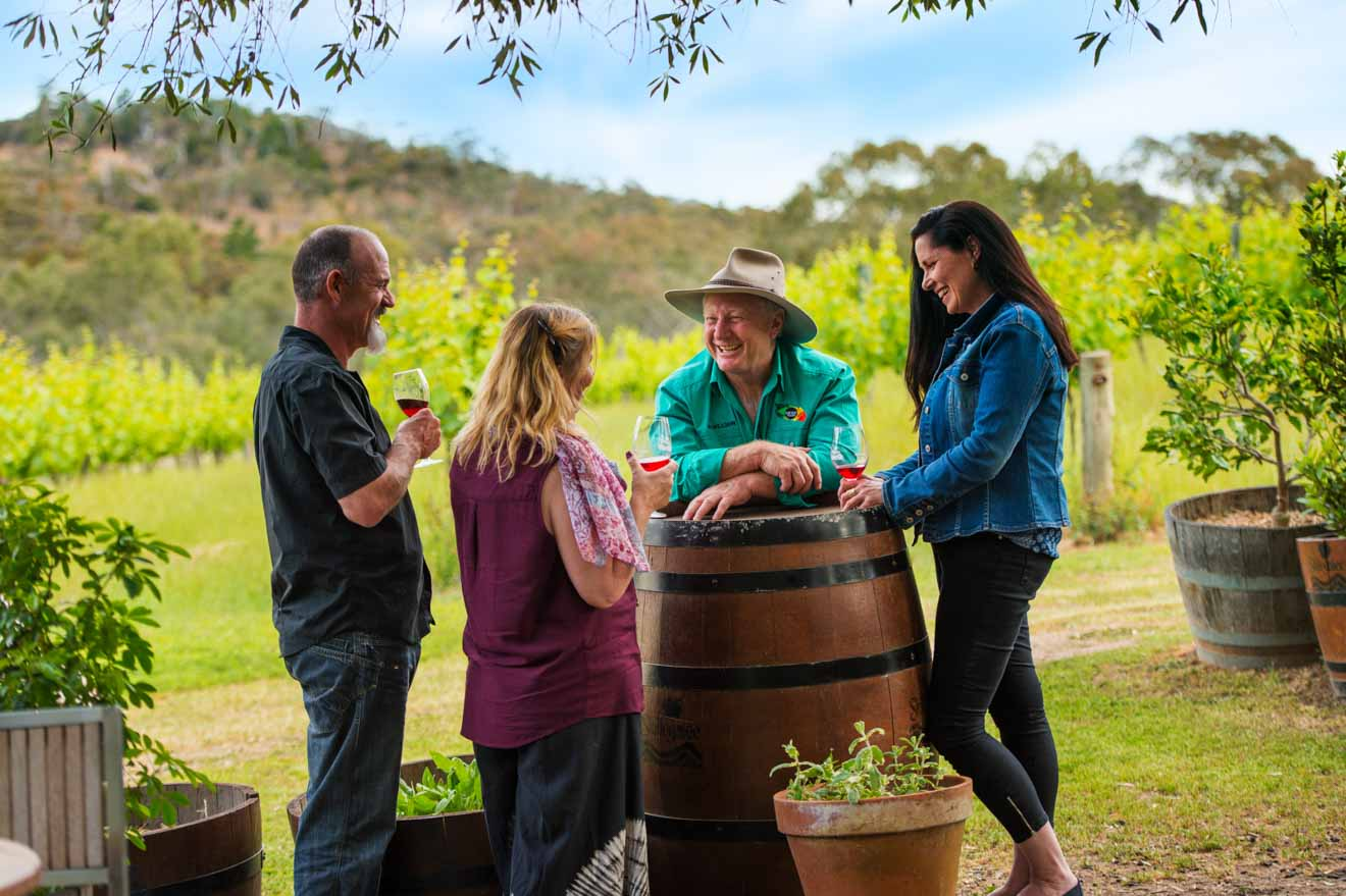 romantic weekend getaways adelaide - Skillogalee Winery Day trips from Adelaide