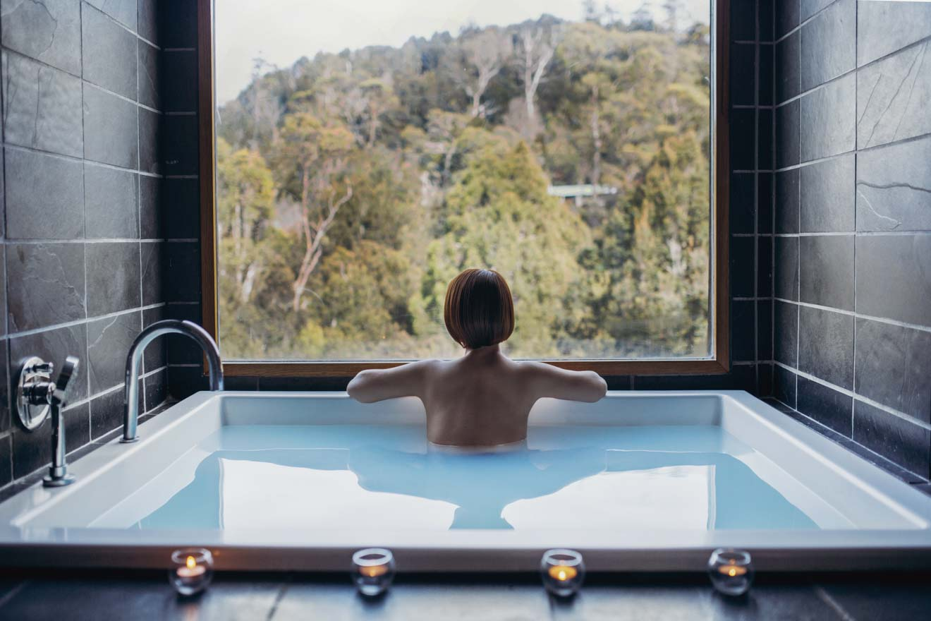 cradle mountain accommodation - Waldheim Alpine Spa at Peppers Cradle Mountain Lodge