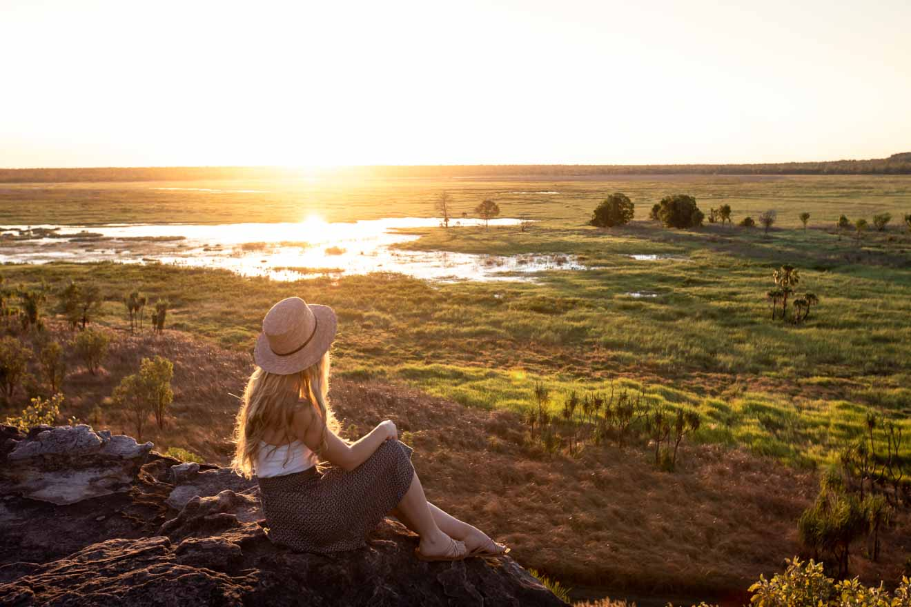 Sunset at Ubirr Things to do in Kakadu national park tours