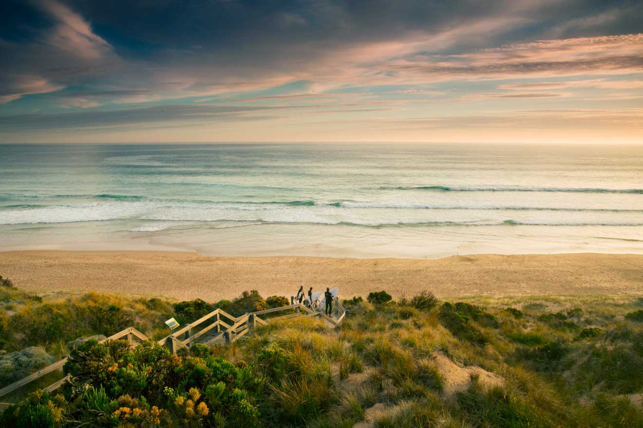 The Best Time to Visit Phillip Island - Surfers at Forest Caves Beach Things to do in Phillip Island