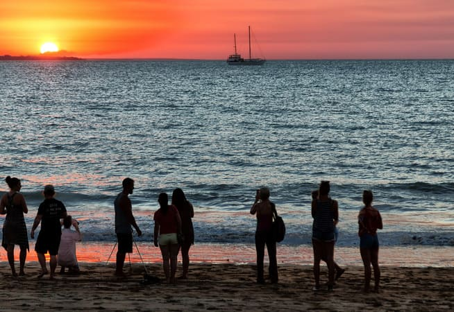 Things to do in Darwin sunset
