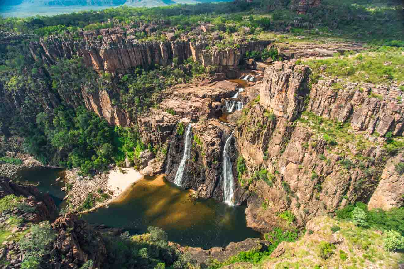 Twin Falls Things to do in Kakadu and litchfield