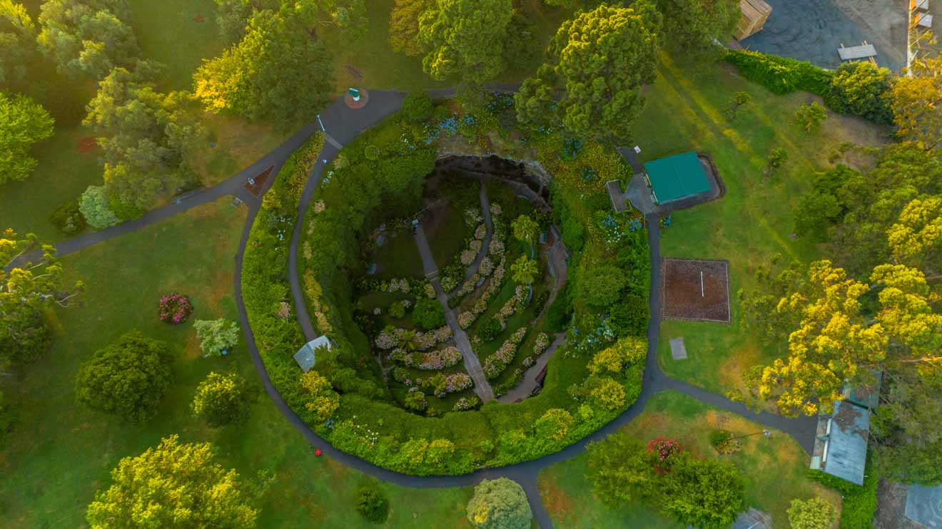 Mount Gambier's Top Attractions - Umpherston Sinkhole Things to do in Mount Gambier