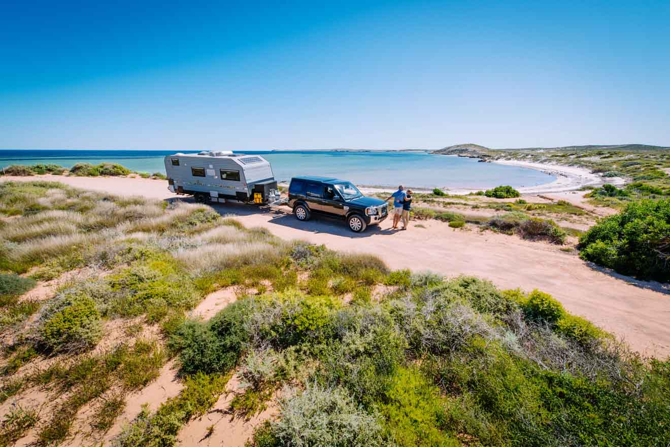 Family things to do at Whalebone Bay campground Western Australia Road trip