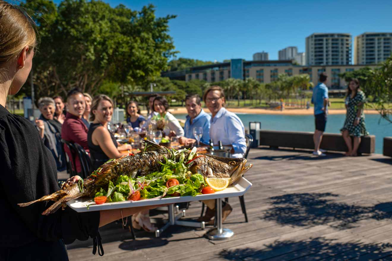 Wharf One Lunch Things to do in Darwin where to eat