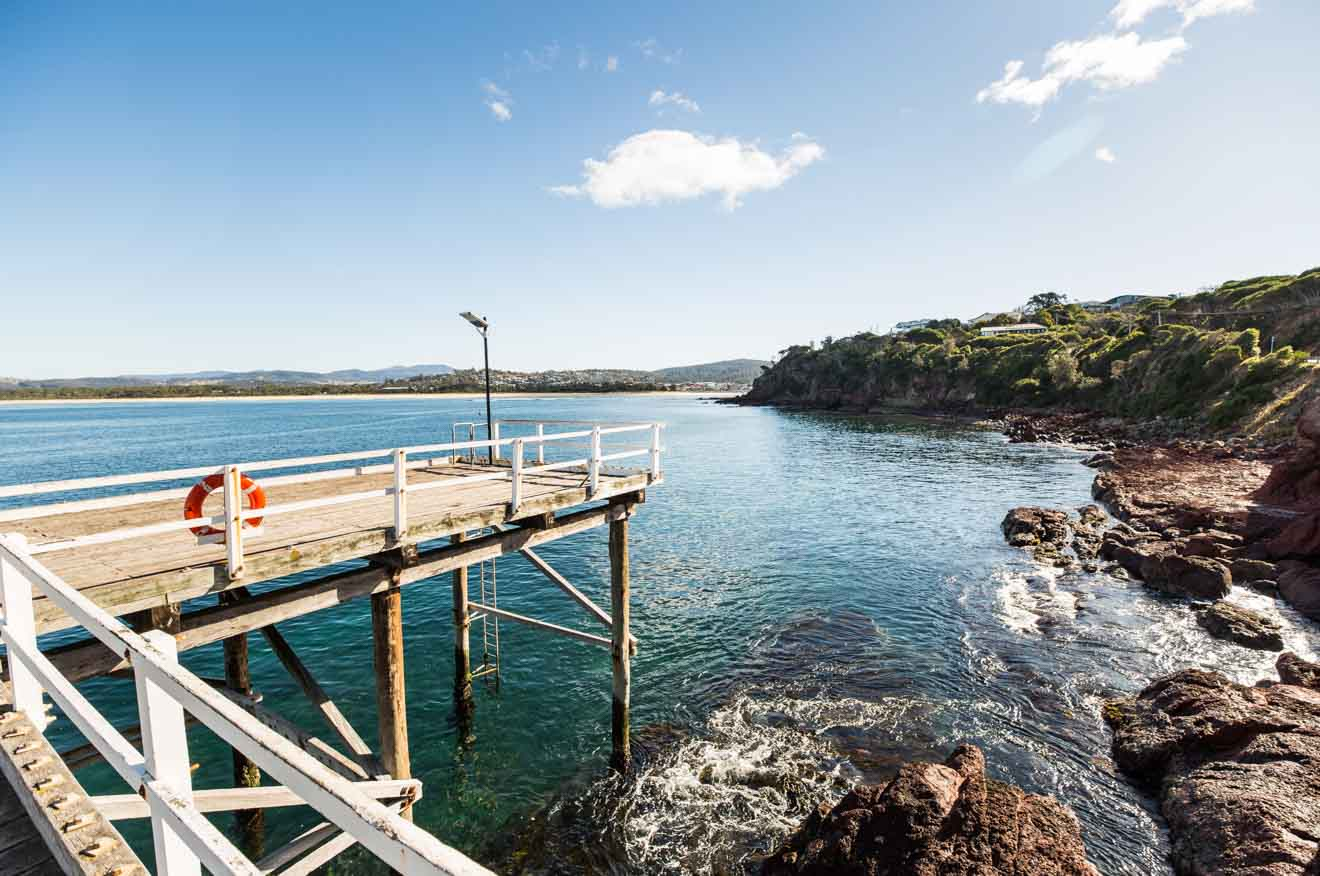 Wharf things to do in the pinnacles Merimbula