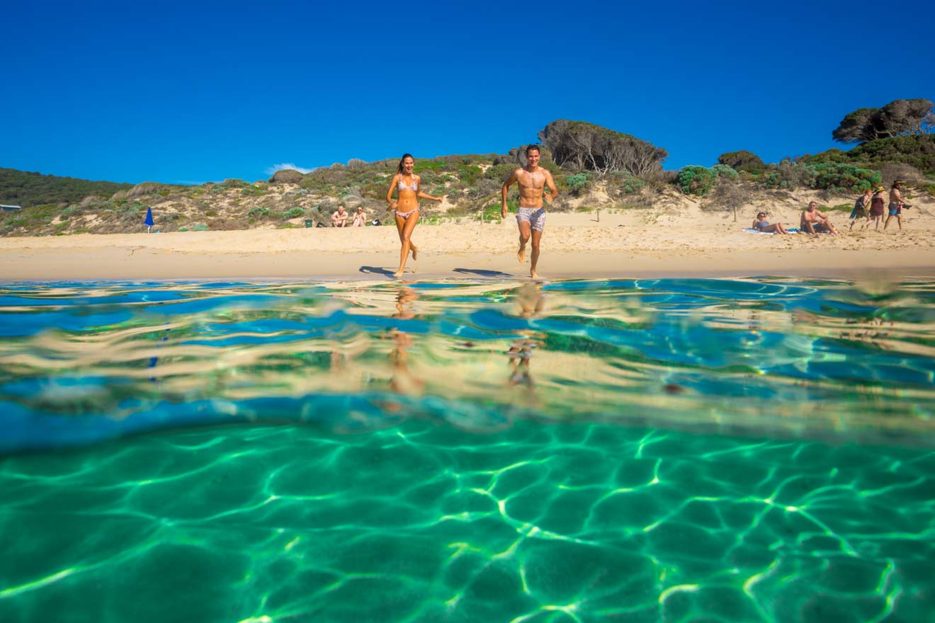Yallingup Beach fun things to do in margaret river