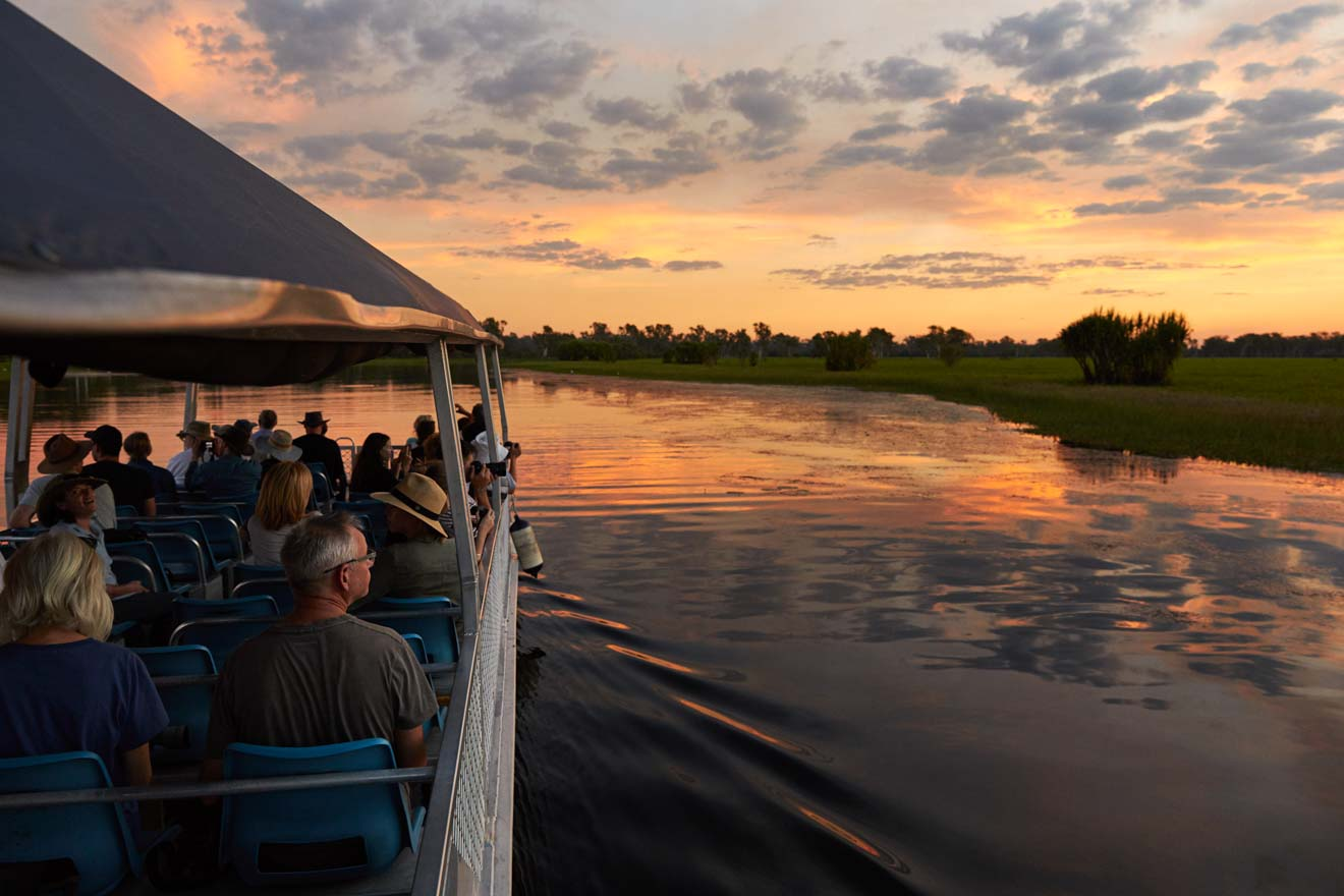Yellow Water Boat Cruise Things to do in Kakadu group tour in holidays