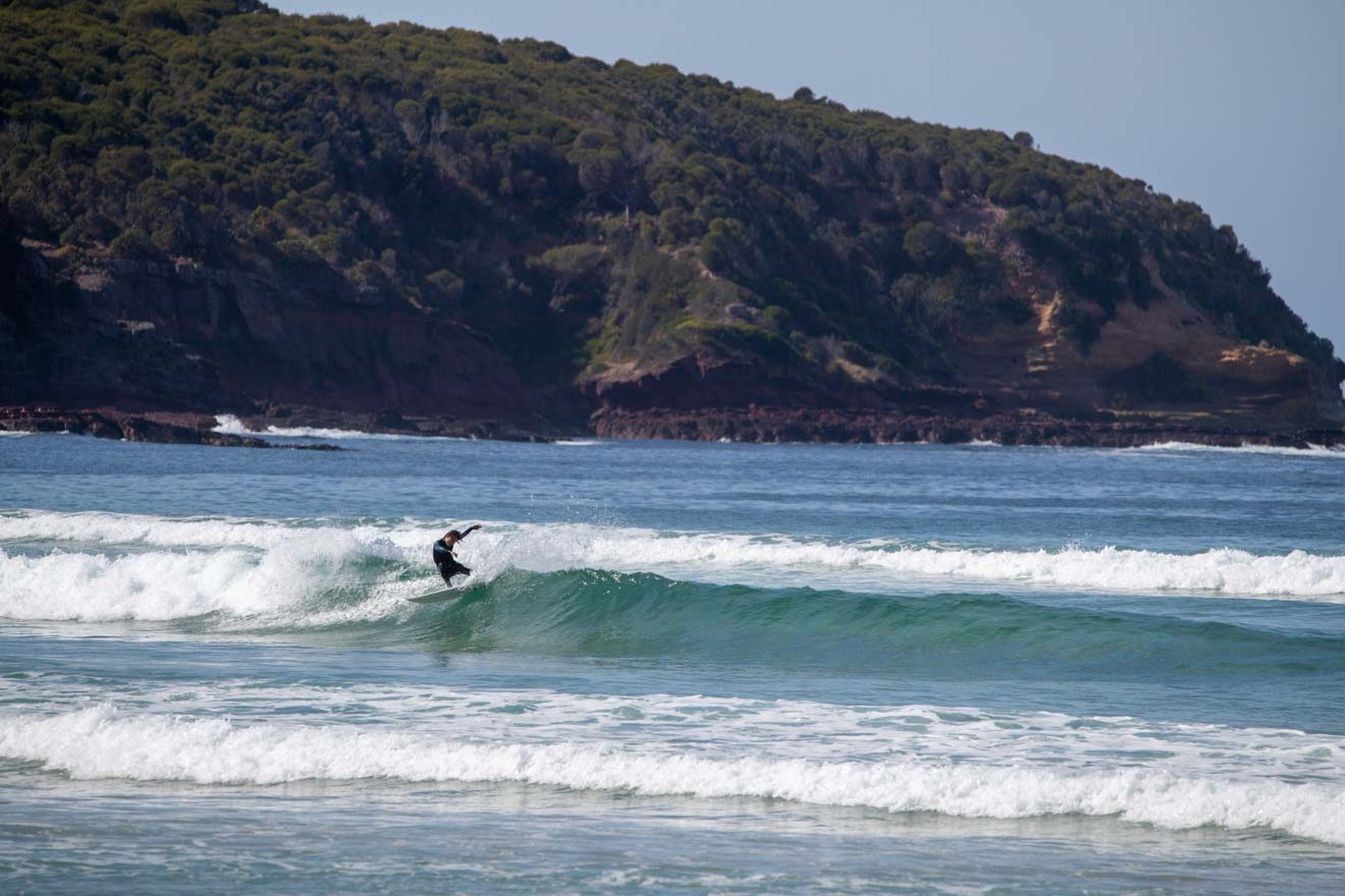 surfing and beach things to do in Merimbula