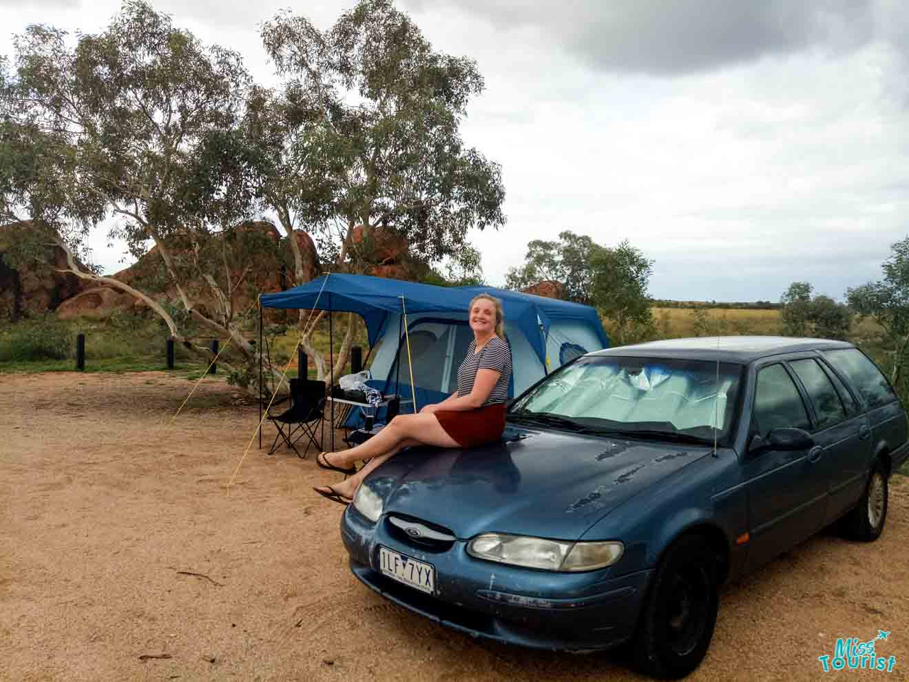 camping spot Darwin to Alice Springs where to stay accommodation