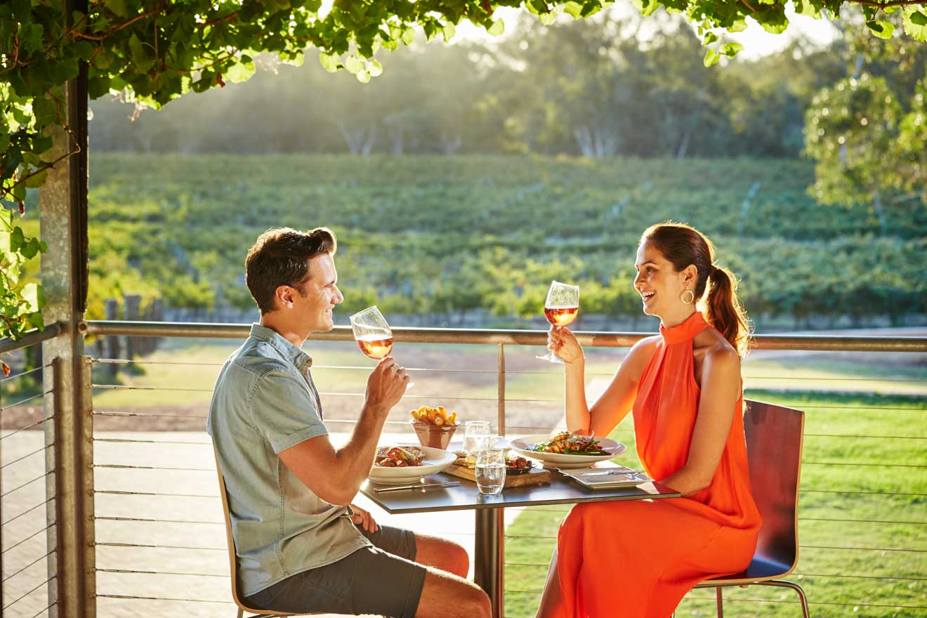 romantic things to do in Swan Valley, near Perth