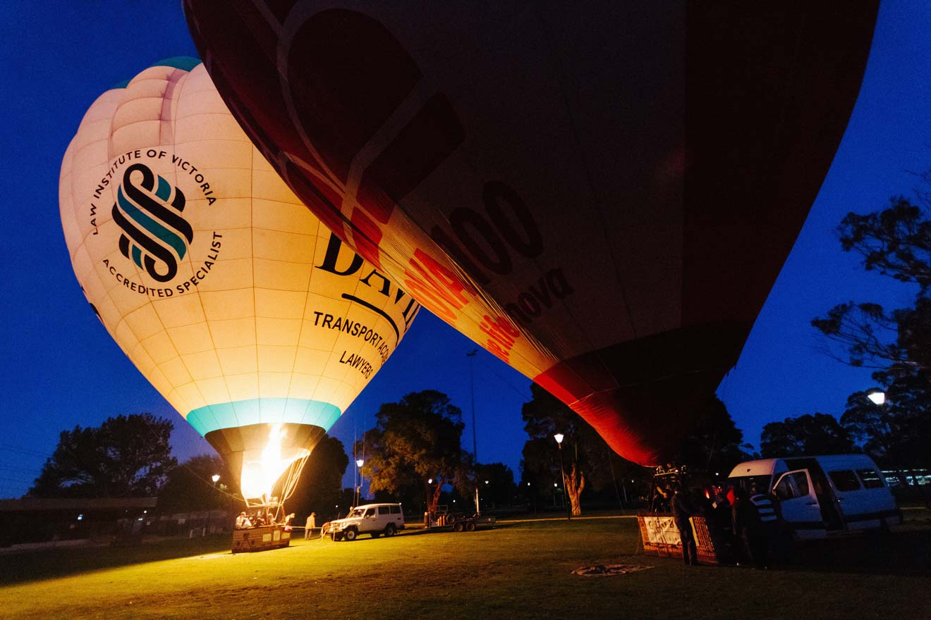 things to do in melbourne - hot air Balloon Things to do in Geelong