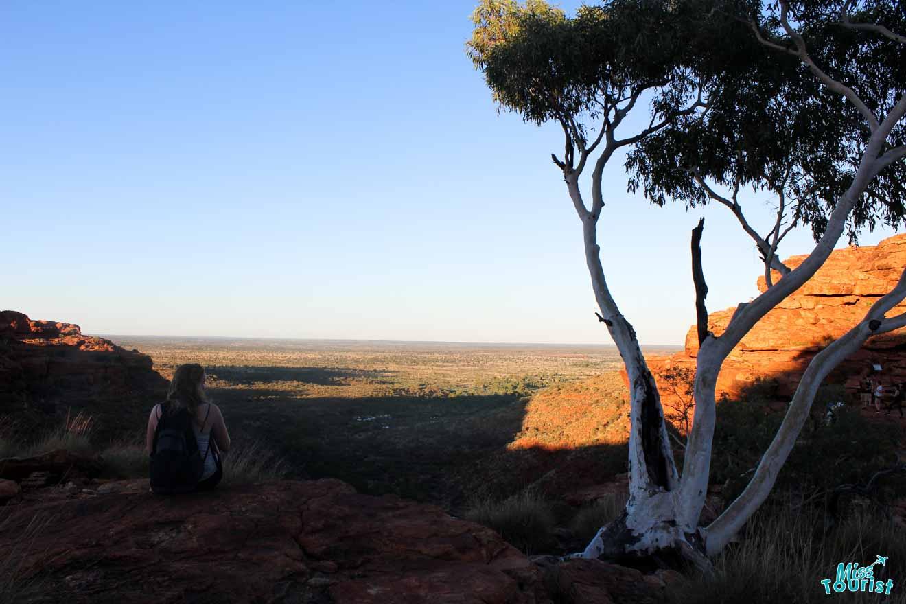 mountain Darwin to Alice Springs to uluru