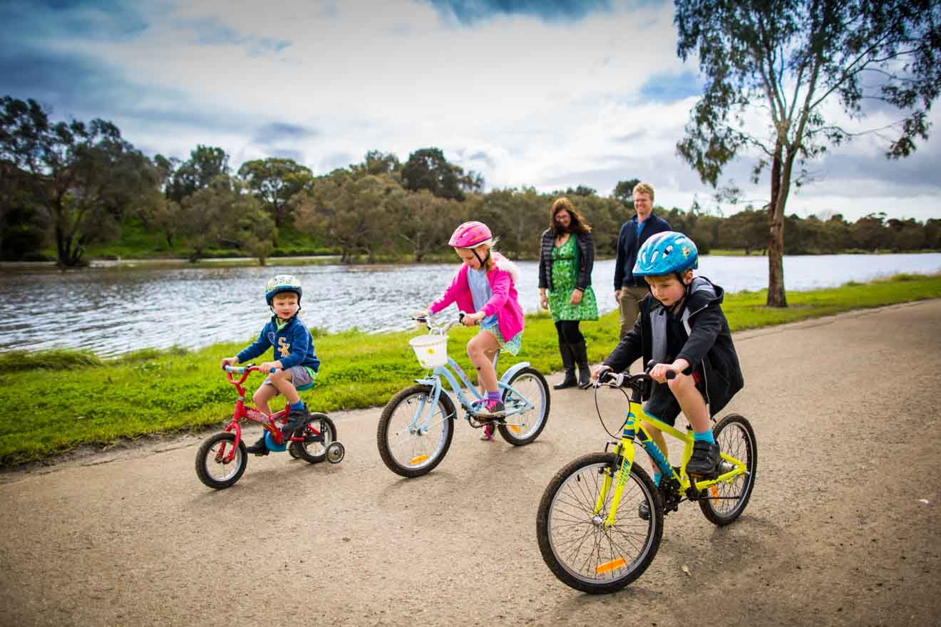 adventure park geelong Page navigation - riding bikes at Barwon River Things to do in Geelong