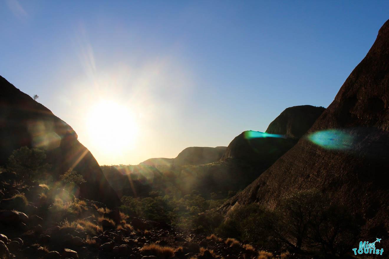 things to do sunrise Darwin to Alice Springs