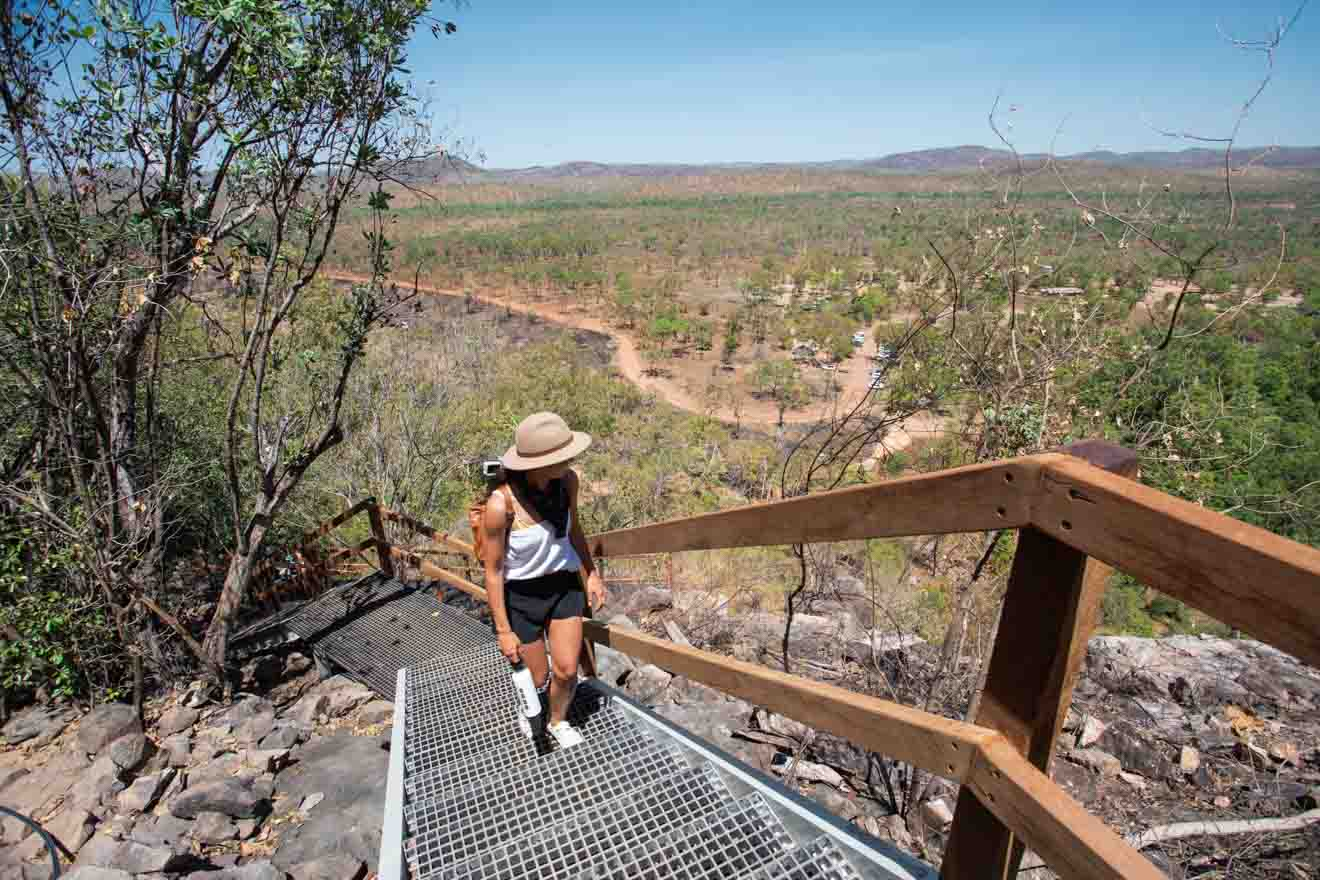 top of Gunlom Things to do in Kakadu national park tourism