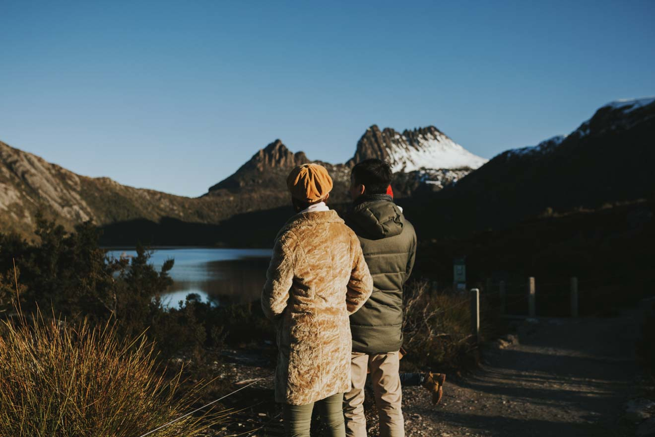 cradle mountain in a day - view Things to do in Cradle Mountain in winter - Cradle Mountain