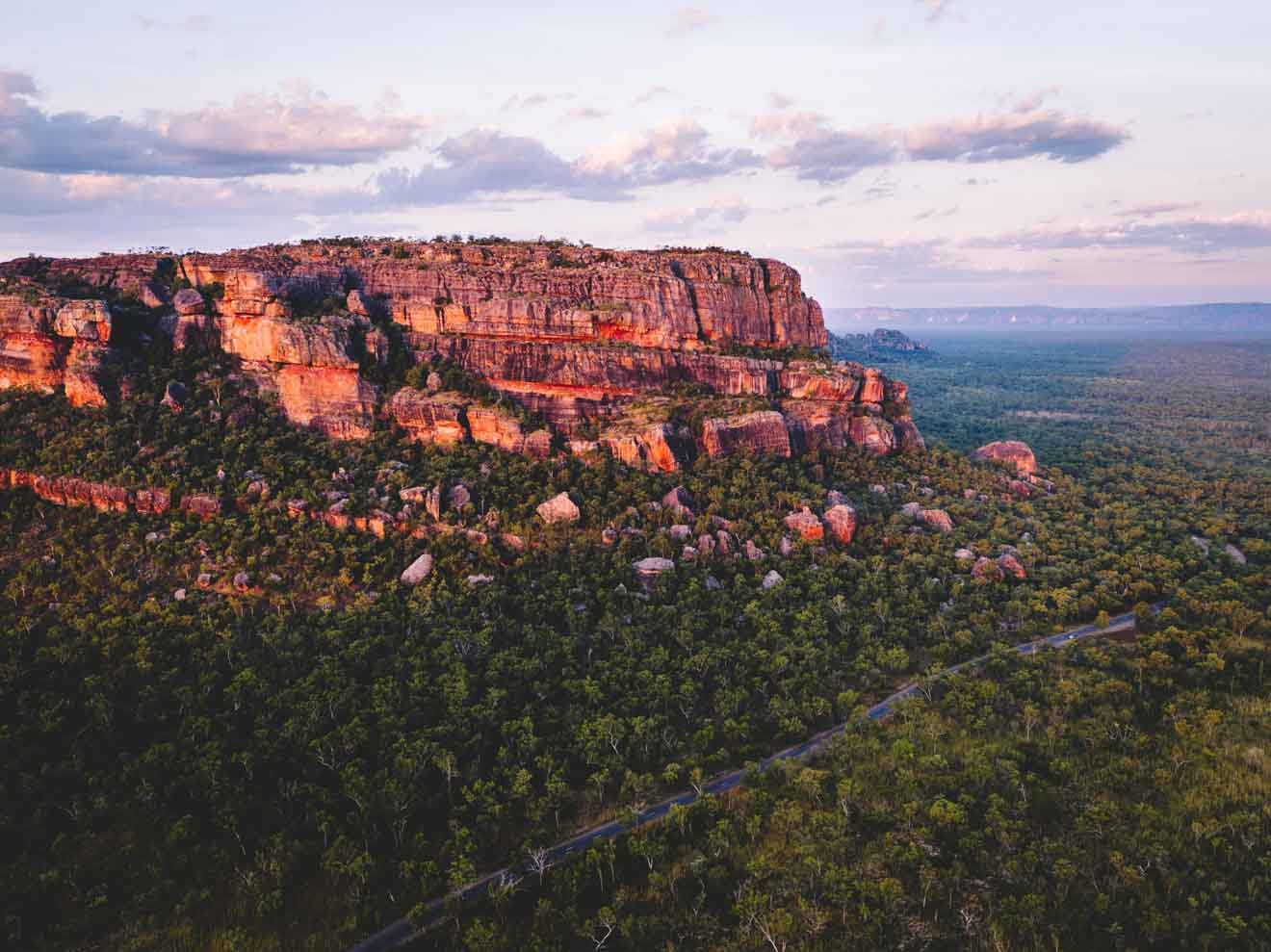 view from the air Things to do in Kakadu and litchfield national park