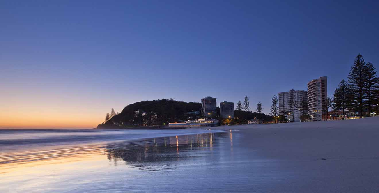 6 Coolangatta where to stay in gold Coast for families